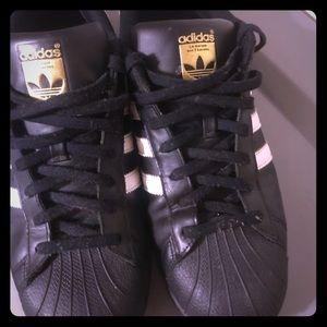Leather Adidas Shelltoes Originals